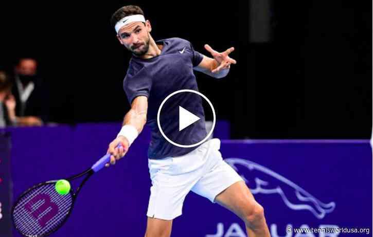 ATP Vienna: Grigor Dimitrov's SHOT OF THE WEEK against Tsitsipas