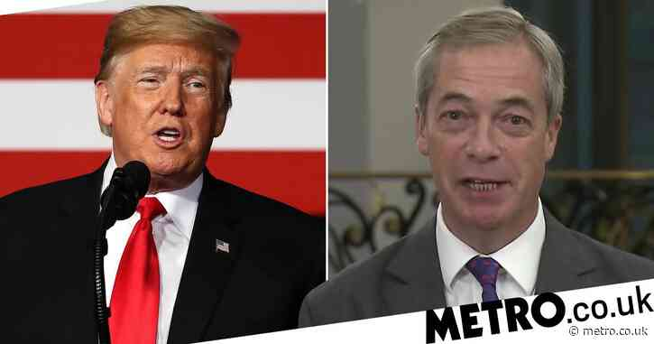 Nigel Farage says win for Donald Trump is 'good for the UK'