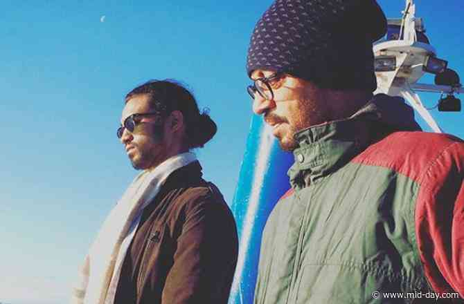 Babil Khan shares a photo with dad Irrfan, captions it '2 man squad'