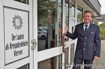 POL-VIE: Willich: Neuer Leiter der Wache in Willich (Fotoberichterstattung) - Presseportal.de