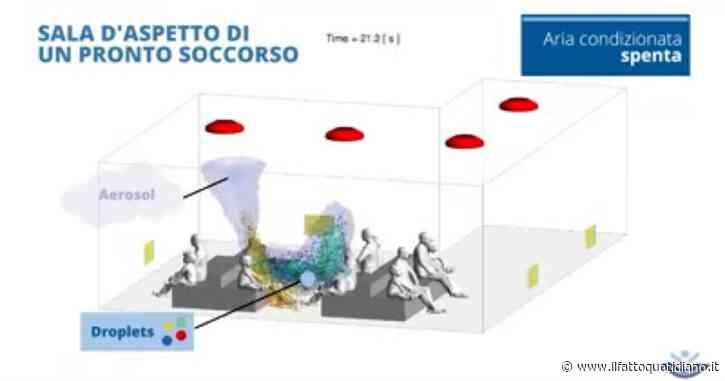 Ecco come si propaga il coronavirus dopo un colpo di tosse (in una stanza chiusa): la video-simulazione del Bambino Gesù di Roma