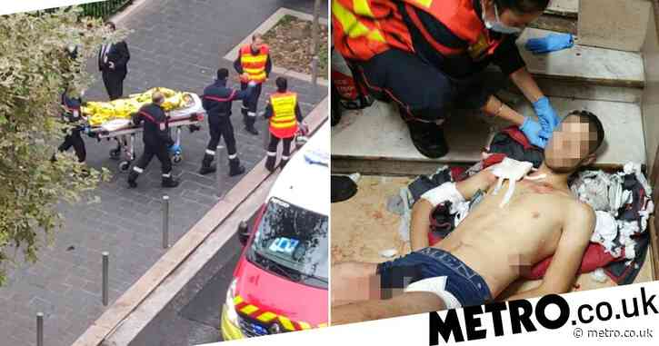 First picture of Tunisian suspect after three killed in French church attack