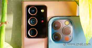 Comparing iPhone 12 Pro and Note 20 Ultra cameras video     - CNET