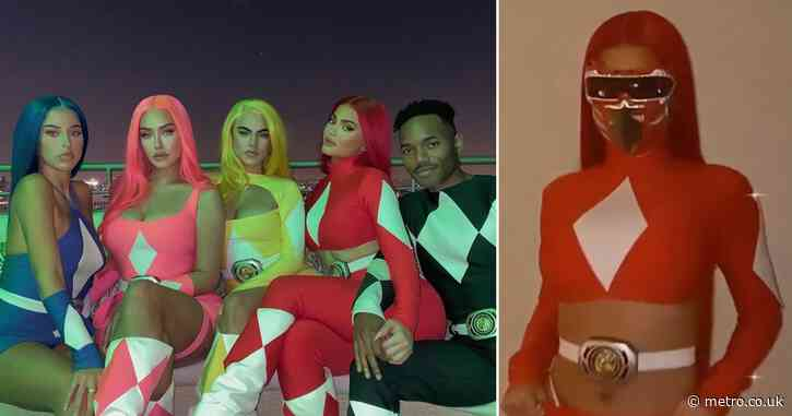 Kylie Jenner and pals dress as Power Rangers for Halloween and we don't remember them looking like this