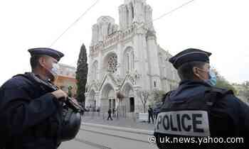 Nice police question man over reported contact with basilica suspect