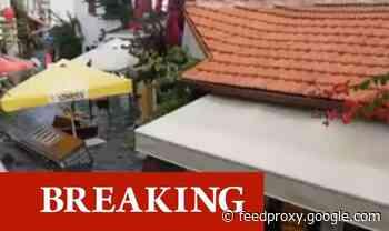 Turkey tsunami: Greece earthquake sends wave crashing through town