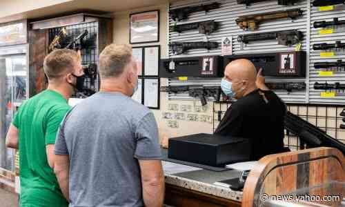 Americans have bought record 17m guns in year of unrest, analysis finds