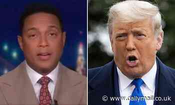 CNN host Don Lemon says Trump supporters are like drug addicts who have 'hit rock bottom'