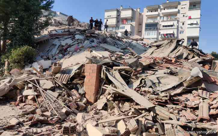 6.7 magnitude earthquake destroys houses in Greece and Turkey