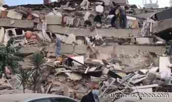 Major earthquake hits holiday hotspots in Turkey and Greece