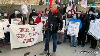 OPINION   Kenney betting Albertans won't support more wildcat strikes by public sector workers