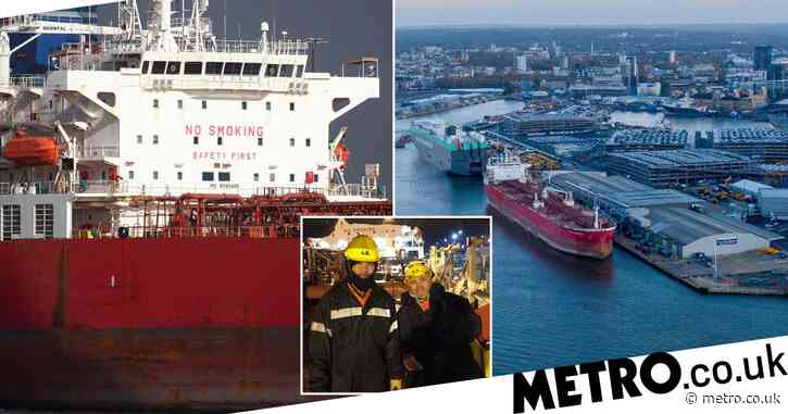 Crew in oil tanker 'hijacking' thank elite troops who secured ship in nine minutes
