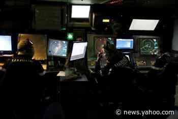 All-seeing French frigate flies flag in tense east Mediterranean