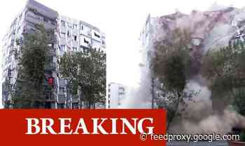 Turkey earthquake video: Terrifying moment high-rise building collapses after 7.0 quake
