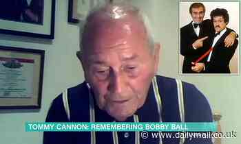 Tearful Tommy Cannon breaks down as he pays moving tribute to Bobby Ball