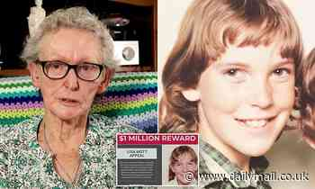 Mum of Lisa Marie Mott hopes $1million reward can solve 40-year-old mystery of missing daughter