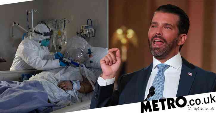 Donald Trump Jr says coronavirus deaths 'are almost nothing'