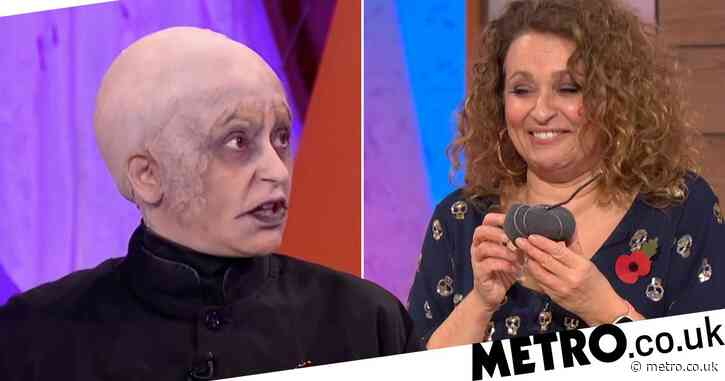 Nadia Sawalha almost killed her dad with her Halloween costume: 'He thought I was his dead uncle'
