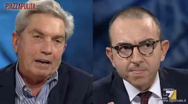 """""""Ma con Salvini"""", """"Offendi"""" La durissima lite in tv tra De Angelis e Padellaro"""