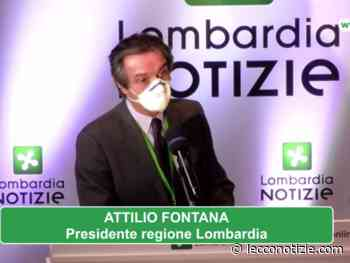Covid, Fontana riconvoca i sindaci: lunedì il punto sull'emergenza - Lecco Notizie