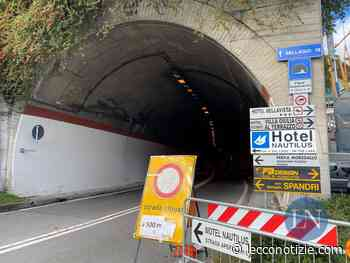 Terreno pericolante, resta chiusa la SP583 'Lariana' (Lecco-Bellagio) - Lecco Notizie