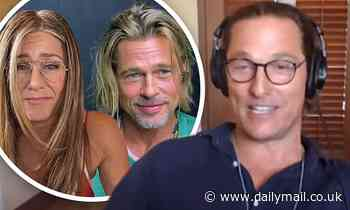 Matthew McConaughey gives his thoughts on Brad Pitt and Jennifer Aniston during THAT table read