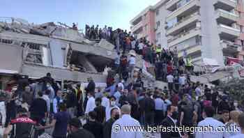 Four dead as strong earthquake hits Turkish coast