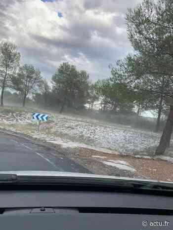 Près de Montpellier : orage de grêle de Grabels à Sussargues - actu.fr