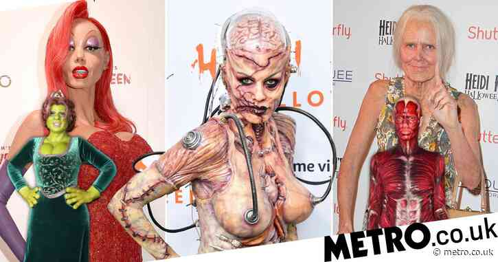 Heidi Klum's Halloween costumes ranked as she prepares for 2020 reveal
