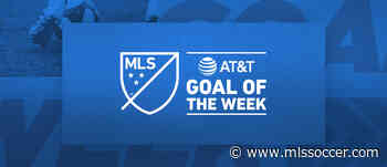Portland's Andy Polo wins AT&T Goal of the Week after stunning Week 21 volley
