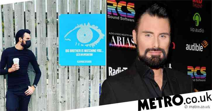 Rylan Clark-Neal excites fans as he poses next to Big Brother sign at Elstree Studios