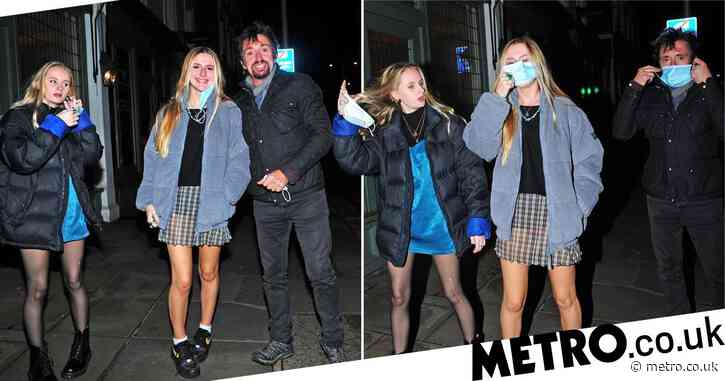 Richard Hammond treats daughters to dinner at the Ivy after revealing he once sold his Ferrari to pay rent