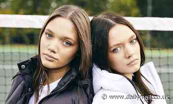 Louis Tomlinson's twin sisters Daisy and Phoebe, 17, emerge from One Direction star's shadow