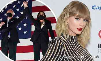 Taylor Swift's song Only the Yong used for Joe Biden and Kamala Harris endorsement video