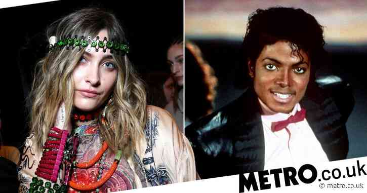 Paris Jackson follows in late father Michael's footsteps and releases debut single Let Down