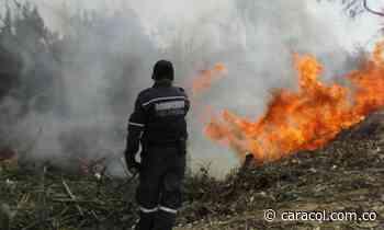 Cerca al municipio de Tópaga se presentaron 3 incendios forestales - Caracol Radio
