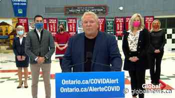 Coronavirus: Doug Ford says COVID-19 measures have been 'working,' asks health officials for reopening plan