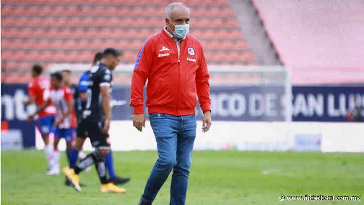 OFICIAL: Guillermo Vázquez fuera de Atlético San Luis
