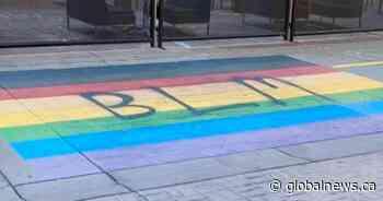 Calgary's Pride, Trans Pride crosswalks to be repainted after 'BLM' vandalism