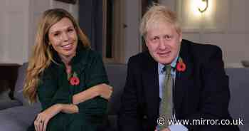 Boris Johnson and Carrie join Pride of Britain to thank medics who saved him