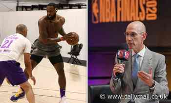 NBA 'allows teams to open practice facilities for workouts and scrimmages with up to 10 players'