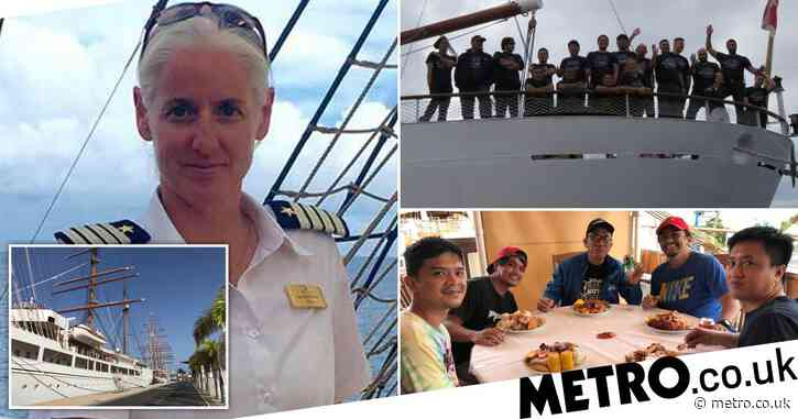 Captain of one of the world's finest cruise ships reveals what life is like in lockdown