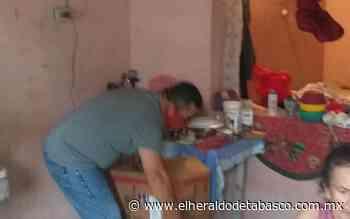 Llueven bendiciones a mujer encerrada por casero en Huimanguillo - El Heraldo de Tabasco