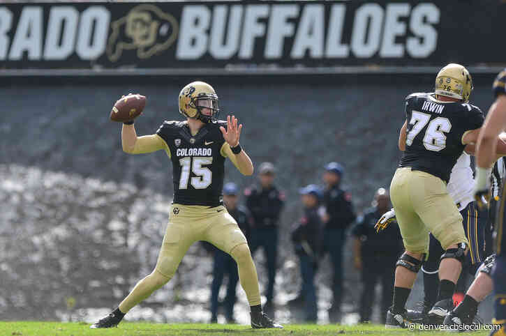Sam Noyer Named CU's Starting Quarterback