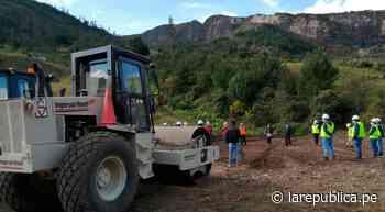Con una inversión de S/172 millones ejecutan vía Bambamarca-Marañón - LaRepública.pe