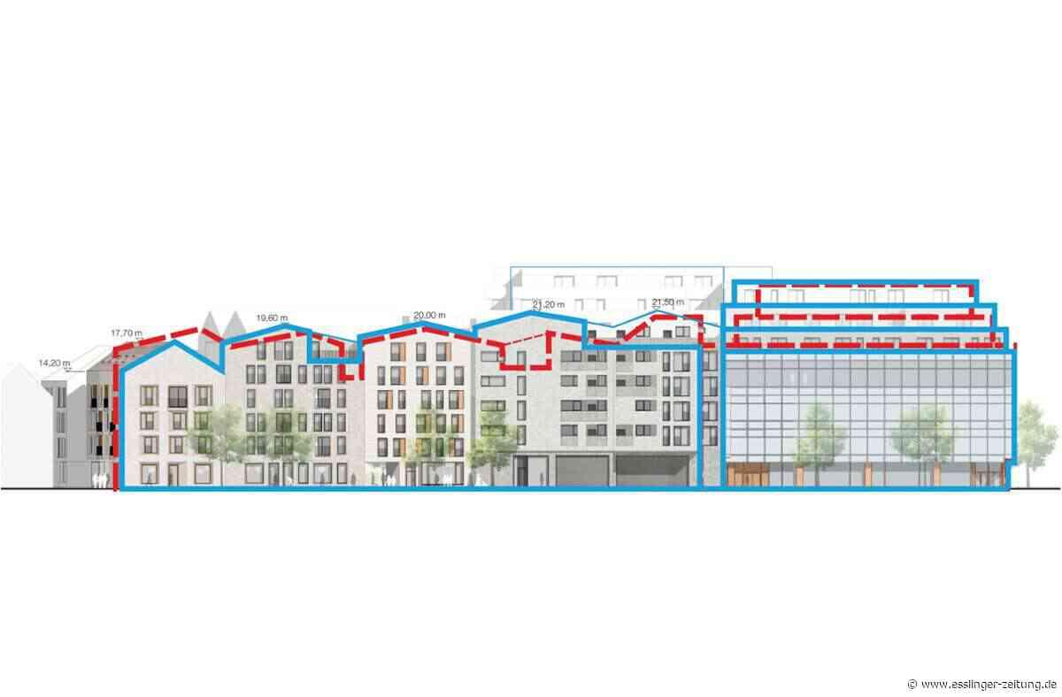 Bauvorhaben auf dem Esslinger Karstadt-Parkplatz: Via-Planer korrigieren die Höhenlinien - esslinger-zeitung.de