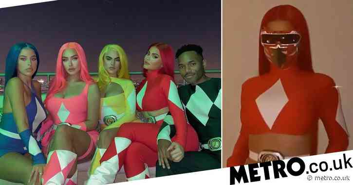 Kylie Jenner claps back at comment about her 'plastic' appearance in Power Rangers costume