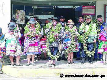 Orcopampa solicita transferir aeródromo - Los Andes Perú