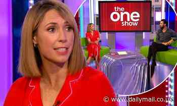 Alex Jones will miss the The One Show after coming into contact with someone with coronavirus