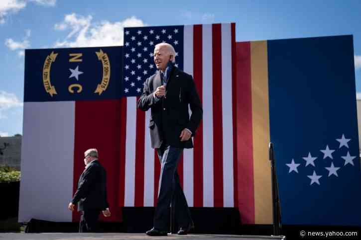 Last North Carolina polls before election give Biden, Cunningham narrow leads